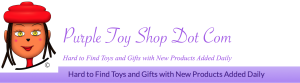 Purple Toy Shop Title Banner