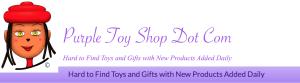 Purple Toy Shop Title Banner
